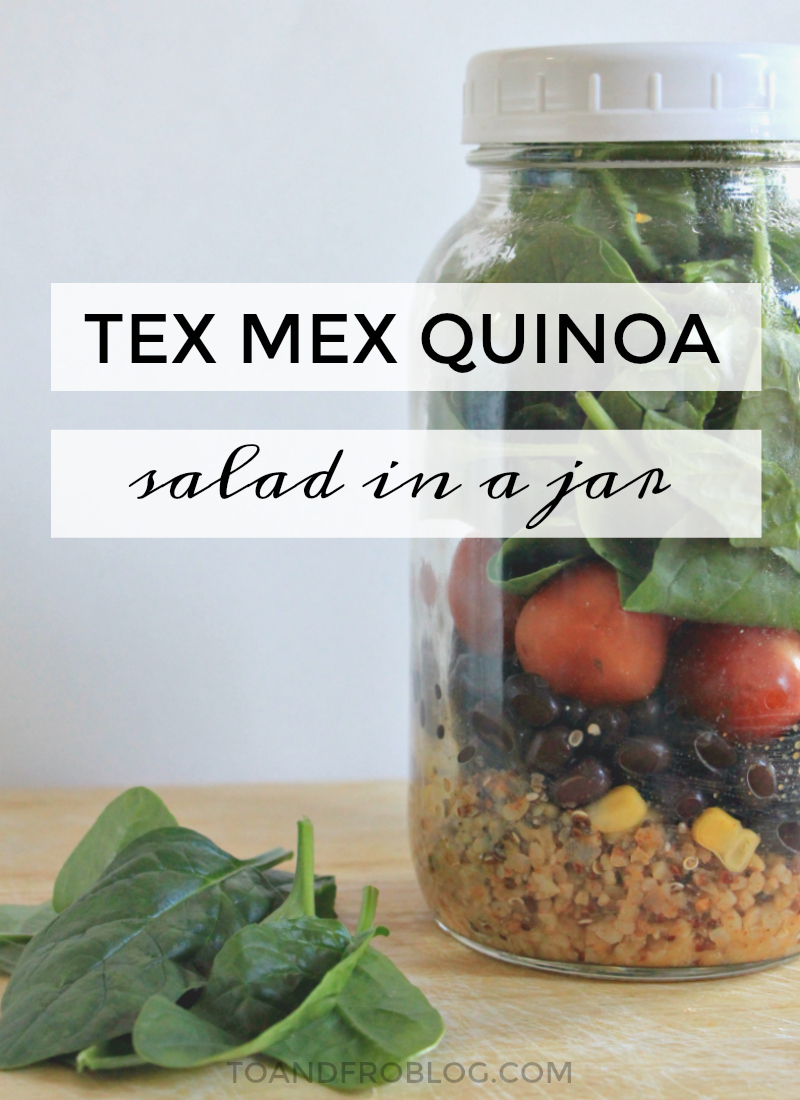 Tex Mex Quinoa Salad-in-a-Jar Recipe