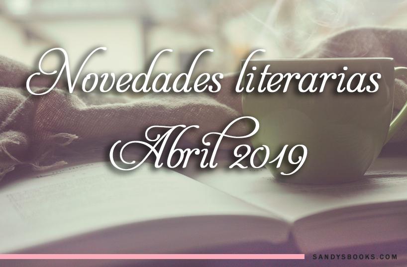novedades libros abril 2019