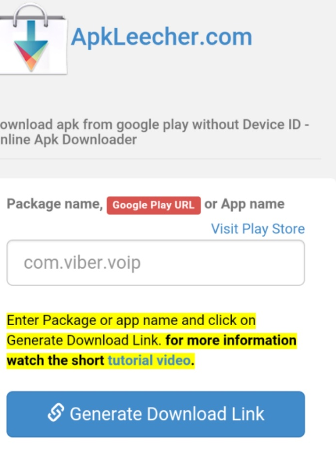 Best Way To Download APK File From Google Playstore