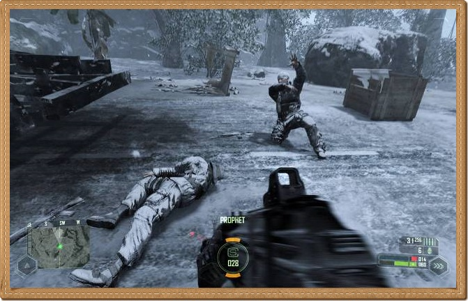 Crysis 1 PC Games Gameplay
