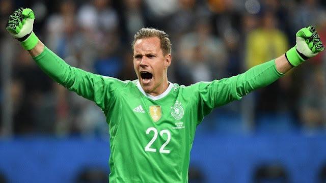 Ter Stegen, mejor jugador de la final de la Copa Confederaciones 2017