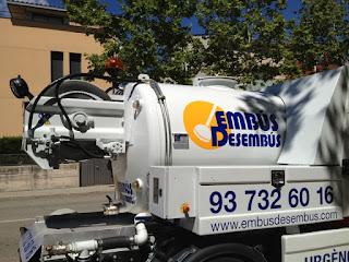 Desatoros y servicio de limpieza con agua a presión