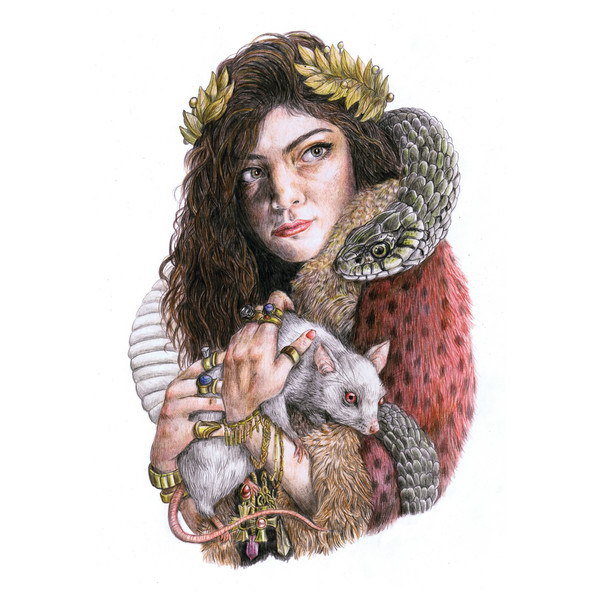 Lorde - The Love Club - EP Cover