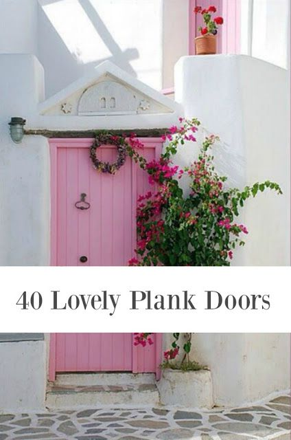 GORGEOUS DOORS