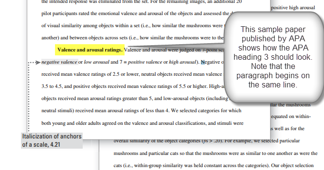 Practical Stats Apa Heading 3 Doesn't Hang Out By Itself