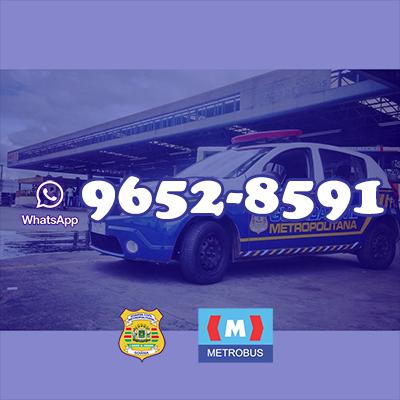 Guarda Civil Metropolita de Goiânia (GO) divulga número do whatsapp para ocorrências no Eixão