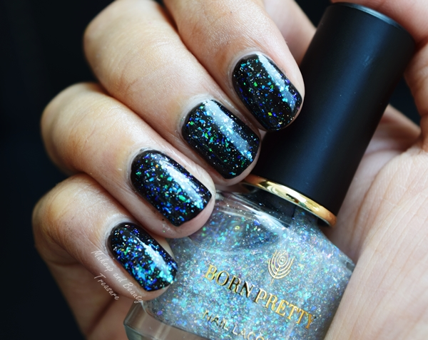 born pretty holographic nail polish