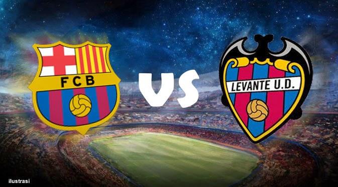 Barcelona vs Levante Live Stream Today 21/9/2014