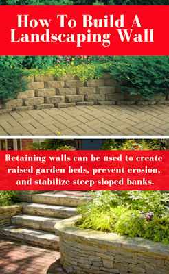 Retaining walls can be used to create raised garden beds, prevent erosion, and stabilize steep-sloped banks.