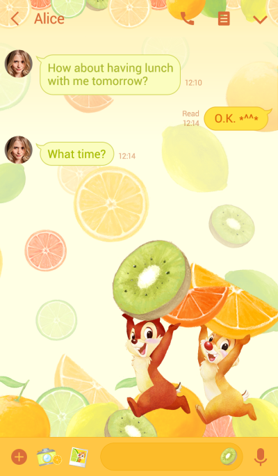 ชิปแอนด์เดล โลกแห่งผลไม้