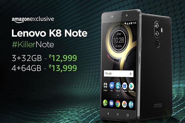 Amazon Great Indian Festival sale: Lenovo K8 pic