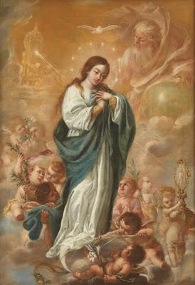 La Inmaculada Concepción - Juan de Valdés Leal - 1682 - Óleo sobre lienzo - 206,5 x 144 cm. - Museo del Prado