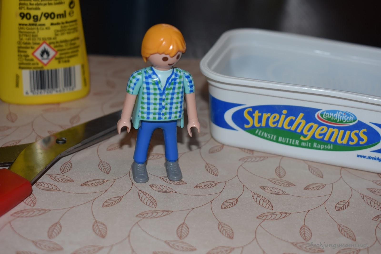 DIY - Wir basteln ein Playmobil Badezimmer - 3-fach Jungsmami
