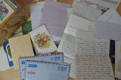 Old cards and letters