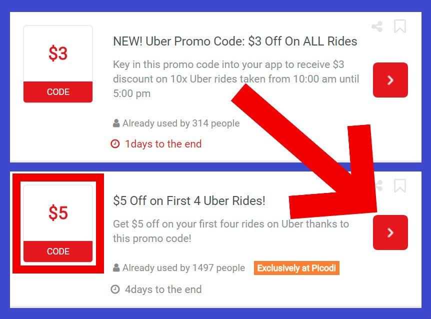 Picodi - Uber İçin Promosyon ve İndirim Kodu Bulmak | Uber Kodları!