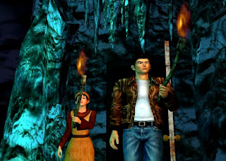 In the caves: Shenmue II