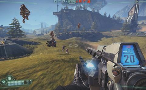 jogo Hi-Rez Studios Tribes Ascend
