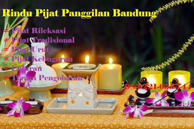 Pijat Refleksi Panggilan Hotel di Bandung - Rindu Pijat