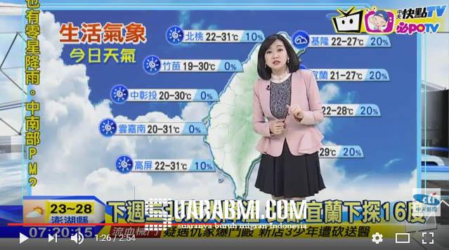 Jaga Kesehatan...! Perbedaan Suhu Antara Siang dan Malam Selisih 10 Derajat di Taiwan Hingga Minggu Depan