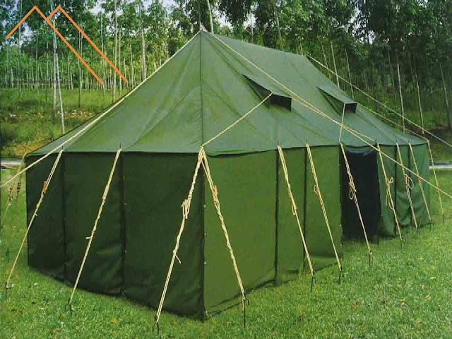 Tenda - Regu - TNI