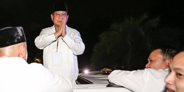 Prabowo: Kalau Saya Tidak Pantas, Jangan Didukung