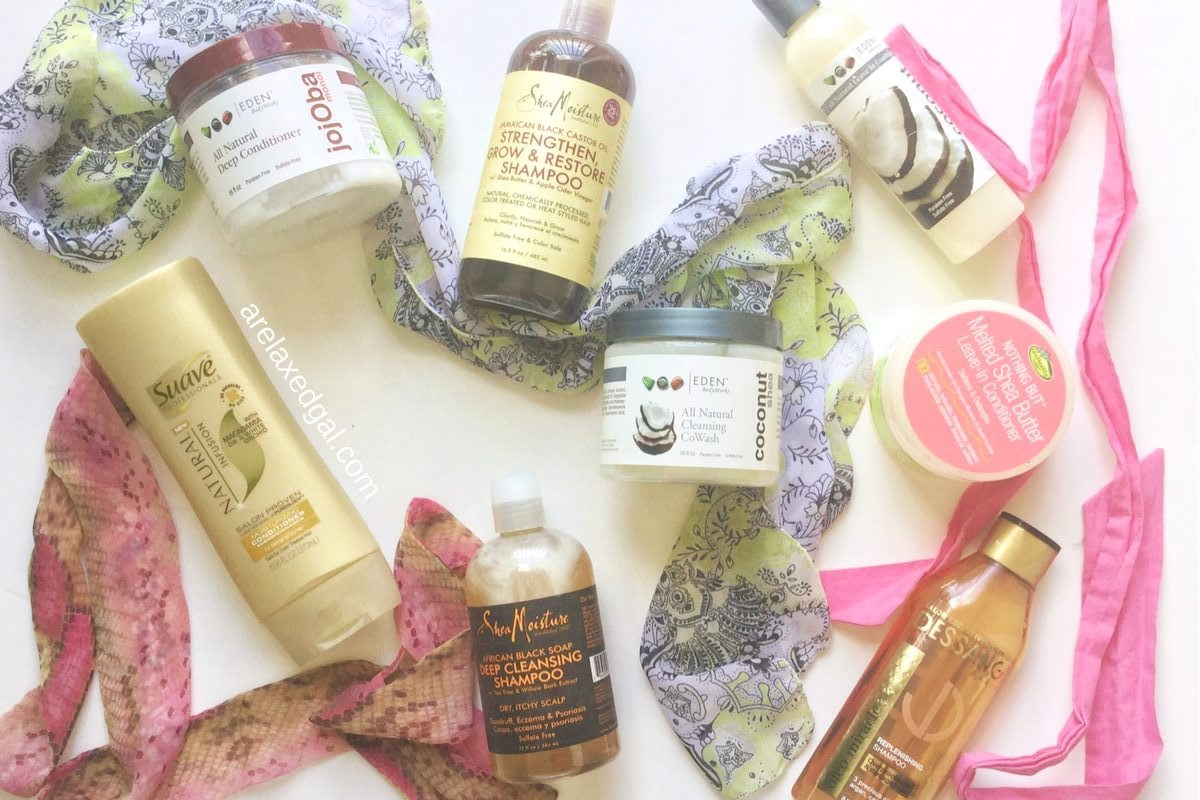 7 common ingredients found in hair care products | arelaxedgal.com