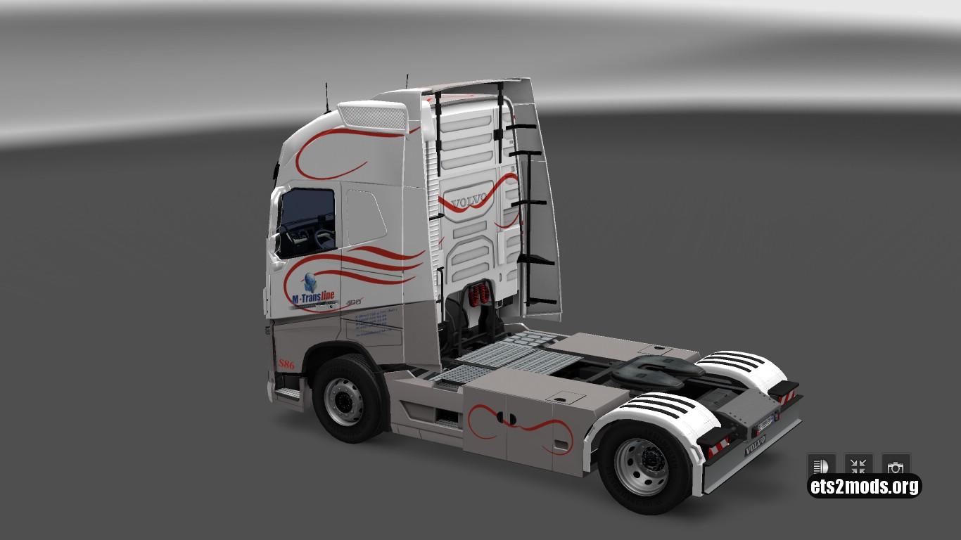 M-Transline Skin for Volvo 2013