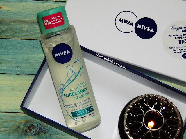 Szampon do włosów micelarny, Nivea