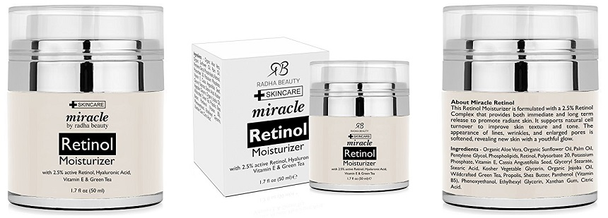 Radha Beauty Retinol Moisturizer Cream for only $20 (reg $50)