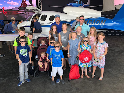 Duggars and Swansons at EAA AirVenture