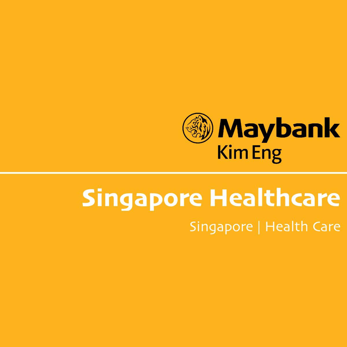 Singapore Healthcare Sector - Maybank Kim Eng Research | SGinvestors.io