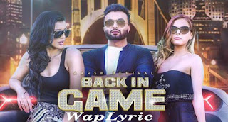 Back In Game Song Lyrics Aarsh Benipal