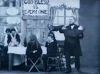Scrooge 1901 Bob con su familia