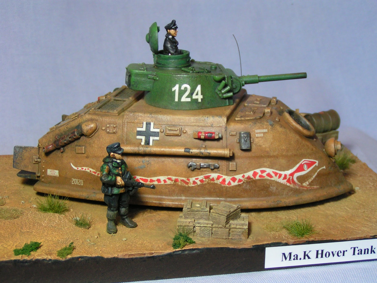Dampf's modelling page: Ma K Hover Tank Ju87s - The Viper