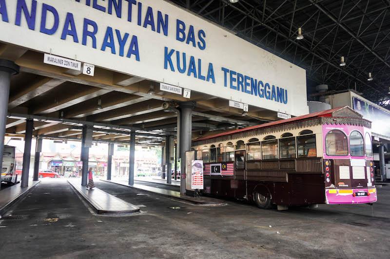 Kuala Terengganu dworzec, jak dojechać do Kuala Terengganu