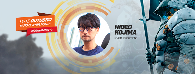 Hideo Kojima Brasil Game Show