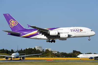 Como é voar na Thai Airways