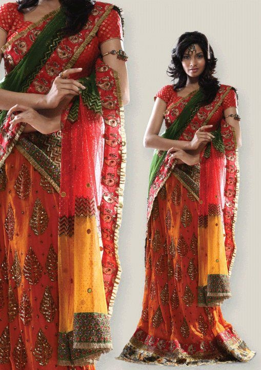 Latest Design Of Assam Type House: Indian Jewellery And Clothing: Latest Designs Of Langa
