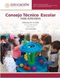 Consejo Técnico Escolar 2019-2020 Fase Intensiva Educación Inicial