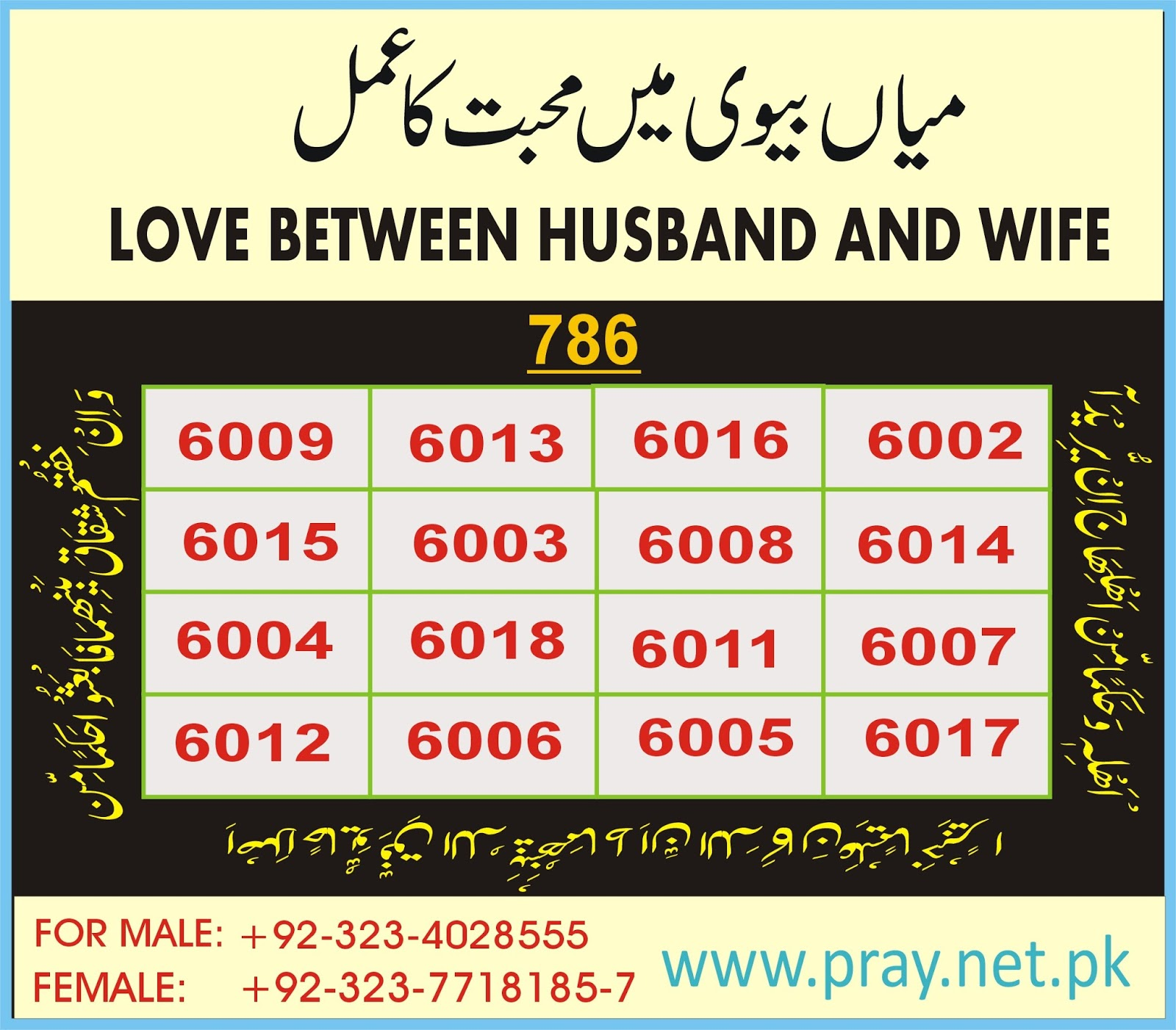 Pray For Husband And Wife Love | Pray For All,Pray To Allah