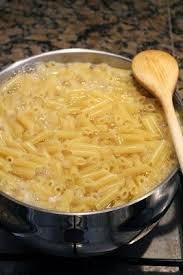 hervir pasta