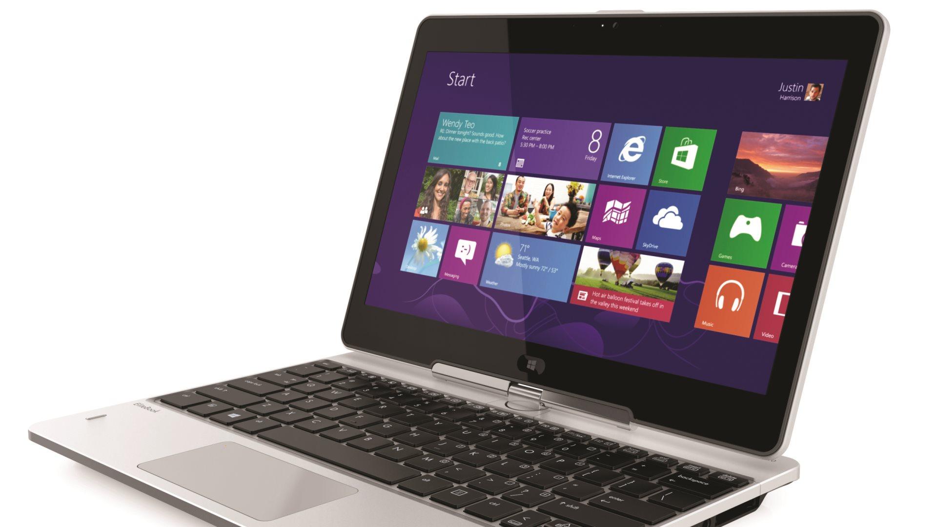 Hp notebook desktop - Hd Wallpaper Elitebook Revolve Is Hp S Enterprise Class Swivel Touchscreen Notebook To Tablet