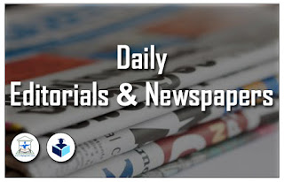 Editorial Pages and News Papers in PDF