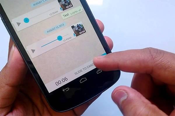 WhatsApp: voz é muito usada no app no Brasil