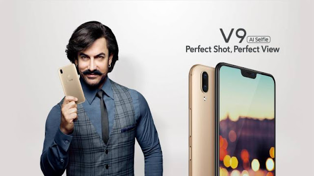 VIVO V9 Amir Khan