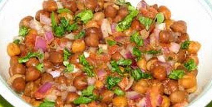चण्याचे सॅलड - पाककला | Chanyache Salad - Recipe