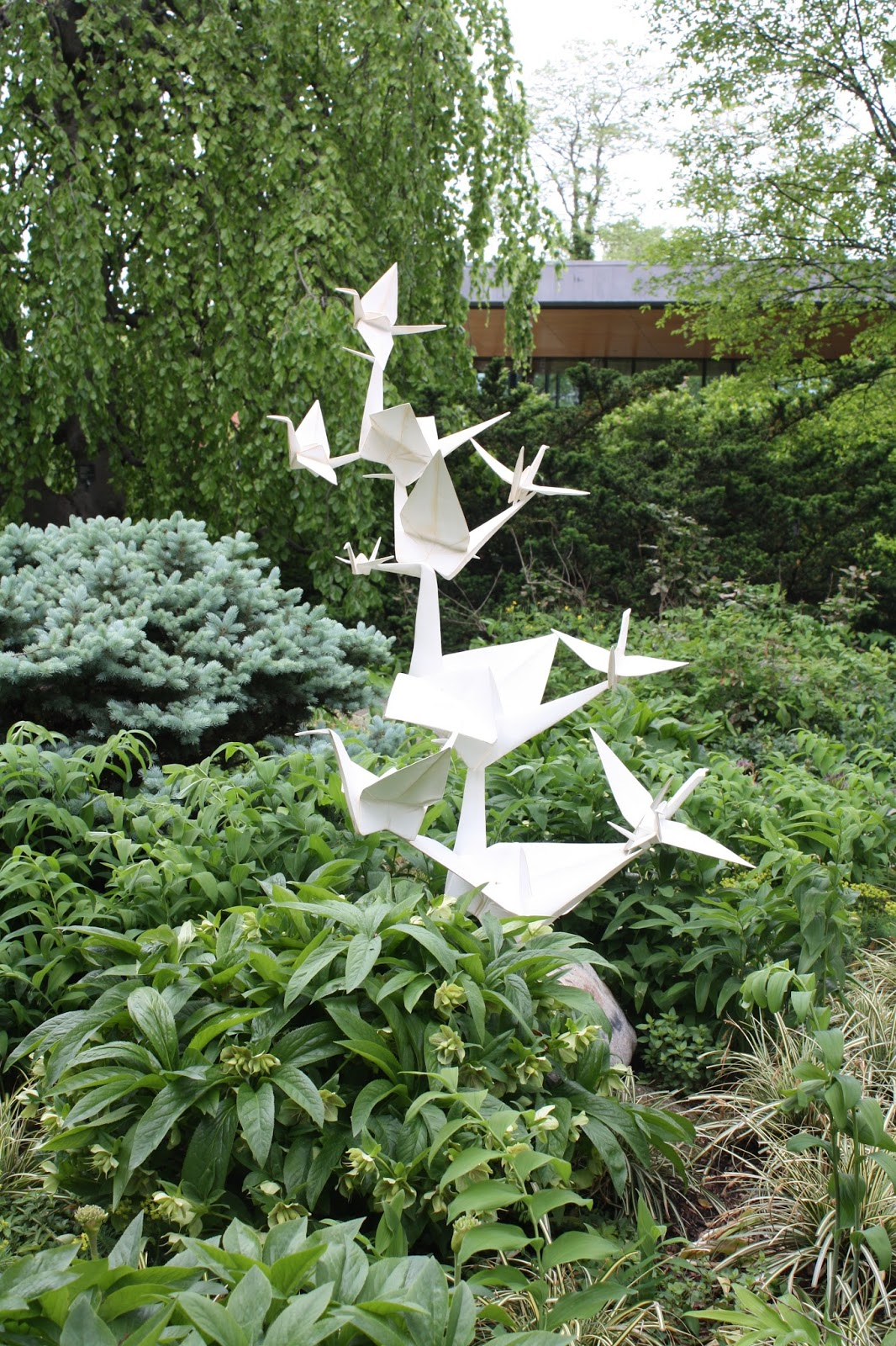 A Little Time and a Keyboard: Origami in the Garden ... - photo#34