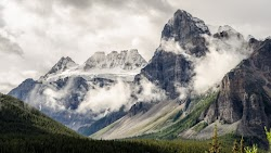 Natural Landscape from Alberta, Canada