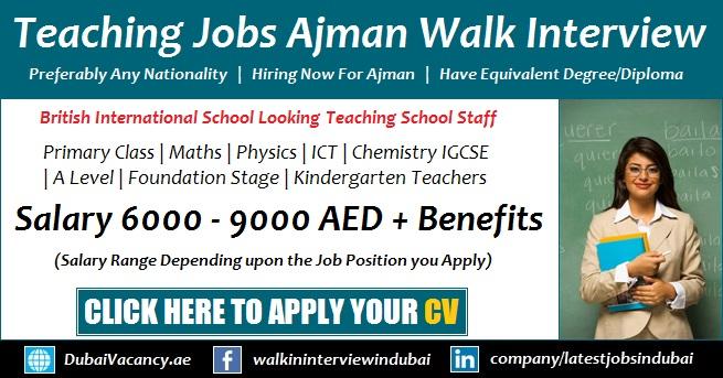 Teaching Jobs in Ajman