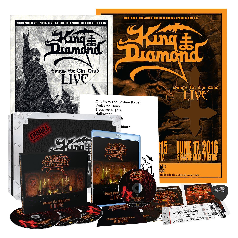 A Cripta do Trevas: King Diamond – Songs For The Dead Live (Box Set – 2019)
